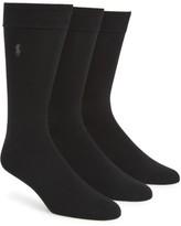 Polo Ralph Lauren Men's Assorted 3-Pack Supersoft Socks
