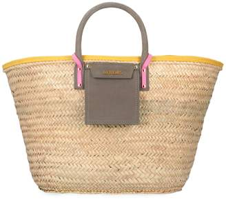 Jacquemus Soleil Raffia Big Handbag