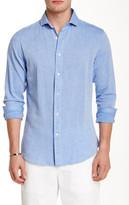 Slate & Stone Trim Fit Long Sleeve Woven Shirt