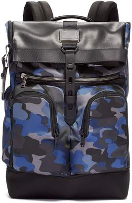 Tumi camouflage foldover backpack