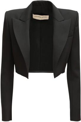 Alexandre Vauthier Wool Crop Jacket