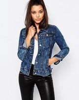 Missguided Washed Denim Jacket