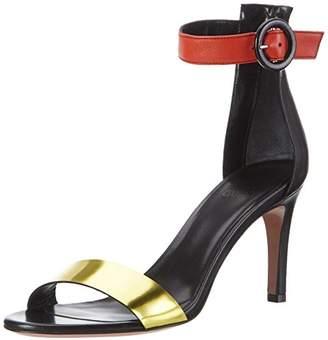Oxitaly Women's Safiana 120 Open Toe Sandals Black Size: