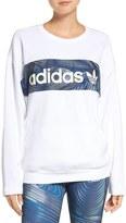 adidas 'BG' Logo Cotton Sweatshirt