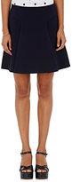 Marc Jacobs Women's Compact Jersey A-Line Miniskirt-NAVY