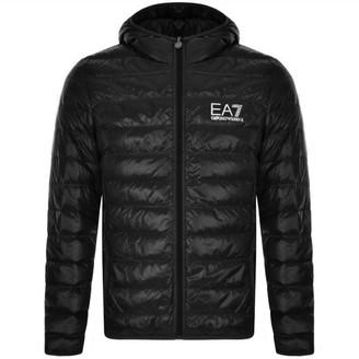EA7 Emporio Armani Quilted Jacket Black