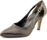Paul Green Contessa Women Pointed Toe Leather Black Heels.