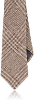 Brunello Cucinelli MEN'S PLAID FLANNEL NECKTIE