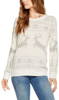 Chaser Reindeer Holiday Sweater