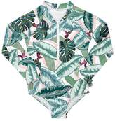Seafolly Girls Toddler Palm Beach Sunsuit