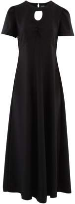 ALEXACHUNG Alexa Chung Long satin dress