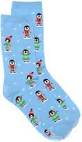 Hot Sox Women's Penguin Women's Crew Socks