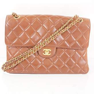 Chanel Timeless/Classique Camel Leather Handbags