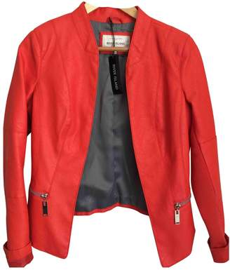 River Island \N Red Leather Jacket for Women