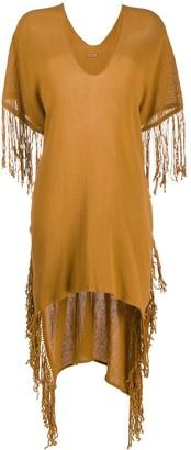 CARAVANA Butub step-hem dress