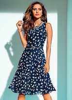 Heine Butterfly Print Dress