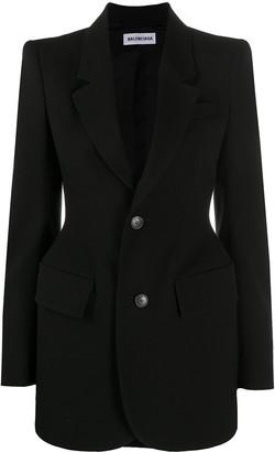 Balenciaga Hourglass single-breasted blazer