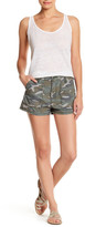 Free People Camo High Rise Short