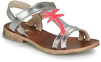 GBB SAPELA girls's Sandals in Silver