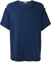 Yohji Yamamoto exposed stitch T-shirt - men - Cotton - 3
