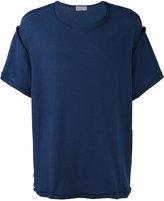 Yohji Yamamoto exposed stitch T-shirt