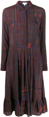 Lala Berlin geometric print shirt dress