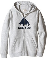 Burton Classic Mountain Full Zip Hoodie (Big Kids)