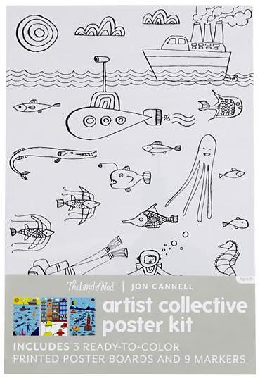 Artist Collective Poster Kits (Jon Cannell)