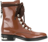 Toga Pulla embellished lace-up boots