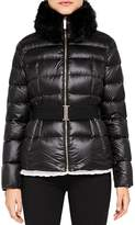 Ted Baker Junnie Faux Fur-Collar Down Jacket