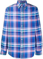 Polo Ralph Lauren long sleeve checked pattern shirt