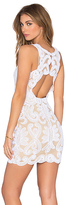 NBD x REVOLVE Embroidered Mini Dress
