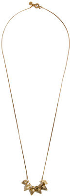 Madewell Etched Spikecluster Necklace