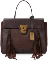 Badgley Mischka Espresso Farrah Shoulder Bag
