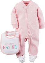 Carter's Easter Sleep & Play Set - Baby Girls newborn-9m