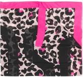Moschino leopard print scarf