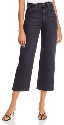 Levi's Rib Cage Ankle Straight Jeans in Feelin' Cagey