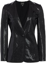 St. John Paillette Shimmer Knit Jacket