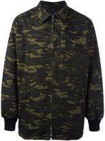 Alexander Wang oversized camouflage jacket
