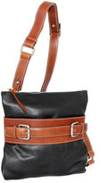 Nino Bossi Women's Delanie Leather Crossbody Bag