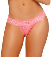 Seven Til Midnight SEVEN 'TIL MIDNIGHT Women's Zoey Open Crotch Tanga