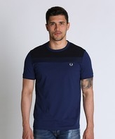 Fred Perry Text Panel T-Shirt