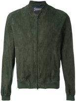 Herno zipped jacket - men - Cotton/Goat Skin/Polyamide/Modal - 48