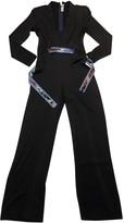 Leonard Black Silk Jumpsuit for Women