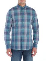 Men's Turquoise Button Down Shirt - ShopStyle