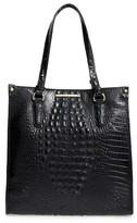 Brahmin Melbourne Maeve Leather Tote - Black