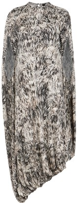 Petar Petrov Ambra Printed Silk-jersey Dress