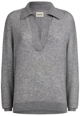 KHAITE Jo Collared Sweater