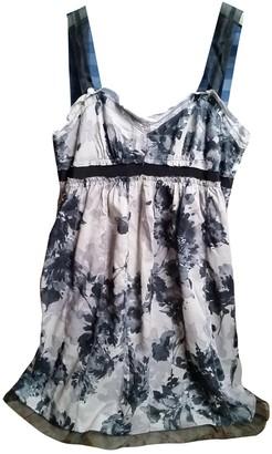 Ann Taylor Grey Cotton Dress for Women