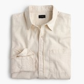 J.Crew Tall heathered slub cotton shirt